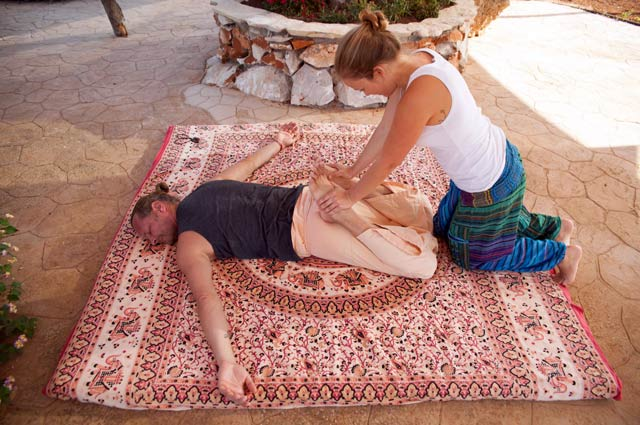 Thaimassage mit Mary